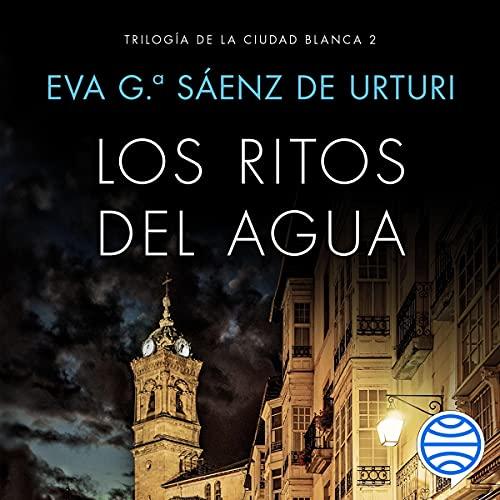 Diseño de la portada del título Los ritos del agua