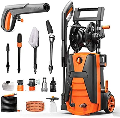 Indoor and Outdoor Cleaning Tools Mop Garden High Pressure Washer, 2100W 160Bar Electric Portable Light Power Washer with, Car/Patio/Yard Washing Machine Ipx5 Waterproofing System. dljyy by dljxx