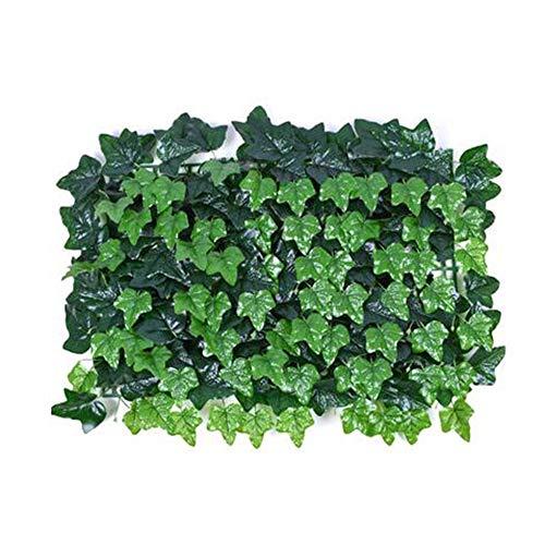 """WXQIANG Hedge Artificial Valla de Pantalla de privacidad Paneles 23.6"""" x 15.7"""", Telón de Fondo UV Protección de Plantas de jardín Boda decoración de la Pared (Color : 02)"""