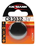 Ansmann 3V CR3032 - Pilas (Litio, Button/coin, 3V) Plata