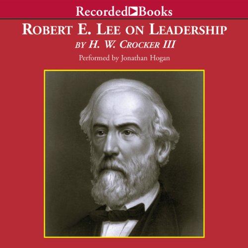 Robert E. Lee on Leadership audiobook cover art