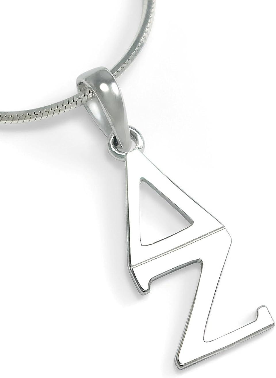 The Nashville-Davidson Mall Collegiate Standard Delta Zeta Choice Clas Sterling Silver Sorority