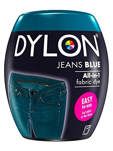 Dylon Machine Dye Pod Jeans Blue 350g, 8.5 x 8.5 x 9.9 cm