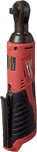 "Milwaukee 2457-20 M12 Cordless 3/8"" Sub-Compact 35 ft-Lbs 250 RPM Ratchet w/ Variable Speed Trigger (Battery Not Incl..."