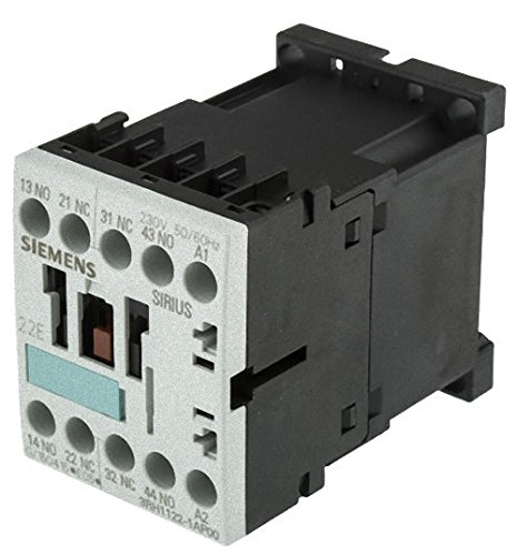 FURNAS ELECTRIC CO 3RH1122-1AP00 10 AMP, 2 NC, Discontinued by Manufacturer, 50/60 HZ, 230 VAC, 2 NO, CONTACTOR