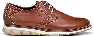 Fluchos | Zapato de Hombre | Kemp F0776 Habana Marino Com.5 | Zapato de Piel | Cierre con Cordones | Piso TR