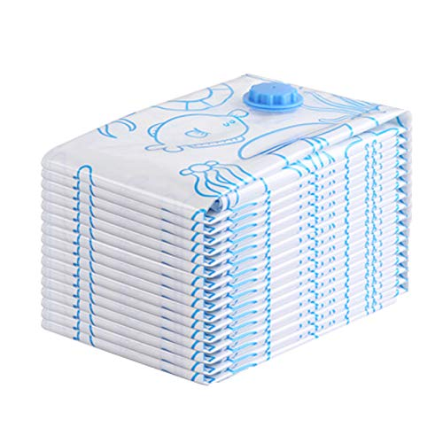 Bolsa De Almacenamiento De Compresión Al Vacío Maleta Engrosada Embalaje Móvil Y Acabado 10 Bolsas Grande 80 * 100 cm