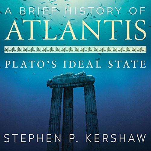 A Brief History of Atlantis audiobook cover art