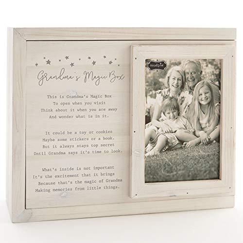 Mud Pie Keepsake Grandma's Magic Wooden Box