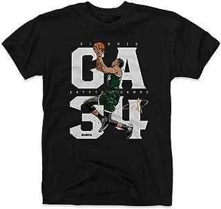 Giannis Antetokounmpo Shirt - Milwaukee Basketball Men's Apparel - Giannis Antetokounmpo GA34