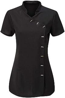 Islander Fashions Werkkleding voor dames, voor beautysalon, spa, kapsalon, massagetherapeuten, damestuniek, top, EU-maat 3...