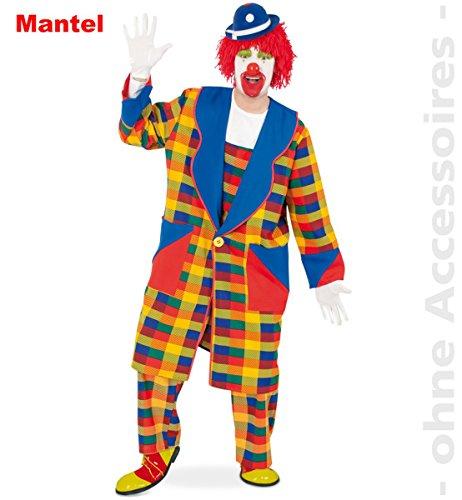 Clown Mantel Peppi Größe: XXL