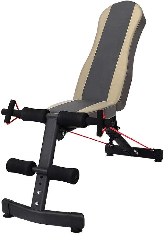 DUXX ダンベルベンチ、調節可能なホームフィットネスボード腹部ダンベルベンチ腹筋フィットネス機器 トレーニングベンチ