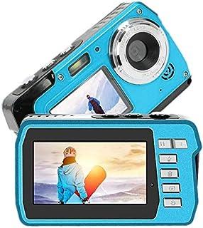 デジカメ 防水 デジカメ 防水カメラ デジカメ 水中カメラ デジタルカメラ スポーツカメラ 1080P 48.0MP デュアルスクリーン日本語説明書付き