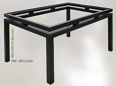 Rustiluz Mesa Modelo Murcia 601l: Amazon.es: Hogar