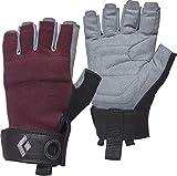 Black Diamond Crag Half-Finger Glove - Women's Bordeaux Small
