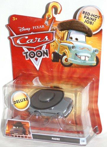 Disney Pixar CARS TOON Exclusive Oversized Die Cast Car PADRE # 19 - Véhicule Miniature - Voiture