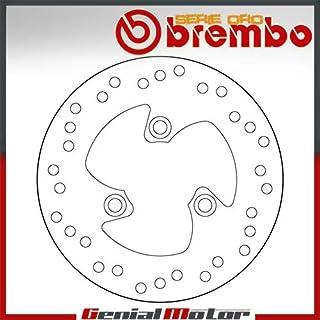 68B40716 Bremsscheibe Fest Brembo Serie Oro Vorne Aerox Rossi 50 2004 > 2007
