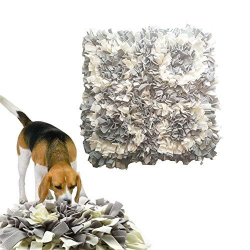 Terynbat Schnüffelteppich Hunde, Hund Trainieren Matte, Schadstofffreies Fördert Natürliche Nahrungssuche und Riechen Trainieren, Intelligenz-Spielzeug für Haustier Hunde