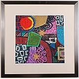 リー・フィリップス 「ニューオプションズ・2」 現代アート 絵画 抽象画 モダンアート モノタイプ 版画 額付き