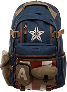 Marvel Captain America Built with Herringbone Backpack