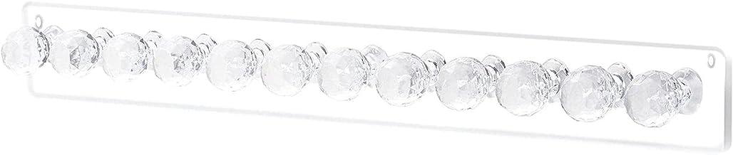 Sieraden Muur Houder Kettingen Haak Bar Sieraden Opslag Met 12 Haken Sieraden Houder Wandmontage Oorbel Houder Acryl Siera...