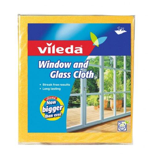 Vileda VIL110289 Fenstertuch, 1er Pack