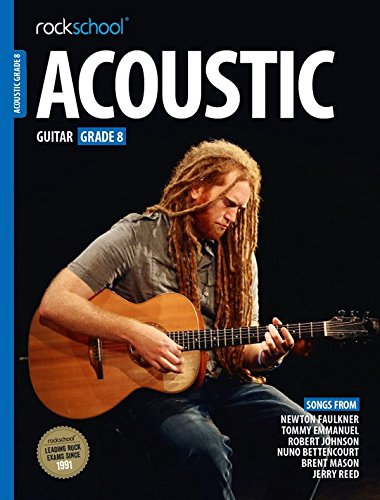 ROCKSCHOOL ACOUSTIC GUITAR - GRADE 8