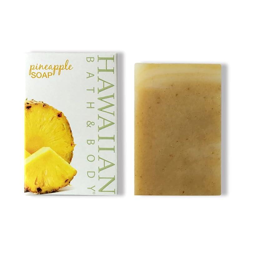 イサカハードウェアバスタブハワイアンバス&ボディ ハワイ?パイナップルソープ ( Pineapple Soap )