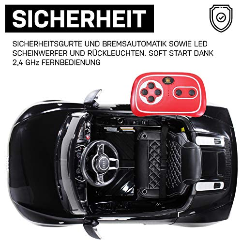 Actionbikes Motors Kinder-Elektroauto Audi R8 Spyder