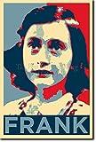 TPCK Anne Frank Kunstdruck (Obama Hope Parodie) Hochglanz
