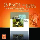 CD JS BACH SONATAS FOR VIOLA DA GAMBA & HARDSICHOR...