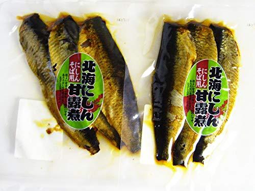 北海にしん甘露煮 にしんそば用(3枚入)×2袋セット
