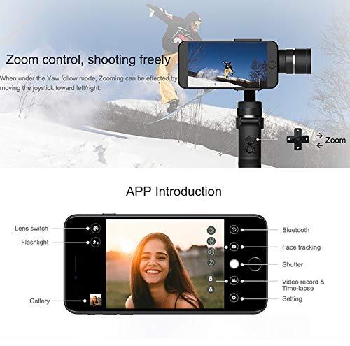 Rabusion Electronics For Capture 3 Axis Handheld Gimbal Stabilizer for Smartphone iPhone GoPro 7 6 5 sjcam EKEN Yi Action Camera
