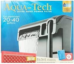 AquaTech Ultra Quiet Power Filter for Aquariums 20-40 Gallons.