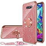 nancheng for LG G8x ThinQ Case,LG V50s ThinQ Case Glitter