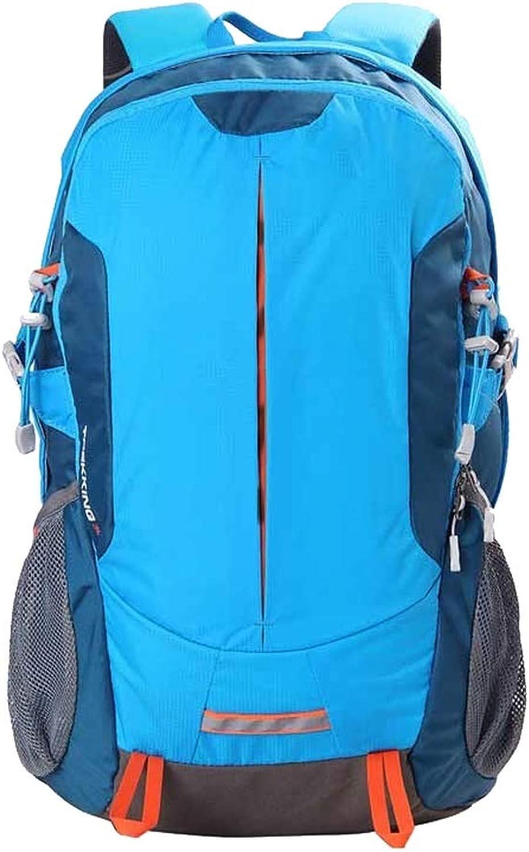 ZA 30-Liter-Ruckscke für Herren und Damen, Sporttaschen, Bergsporttaschen, atmungsaktive Stoffe, Outdoor-Sporttaschen