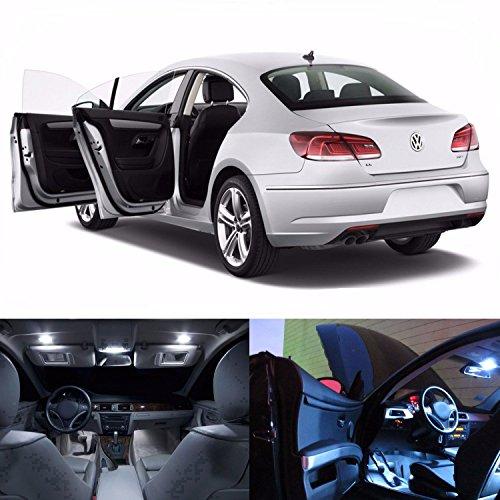 Equinox Global - LED White Lights Interior Package Kit For VW CC 2009-2013 Error Free