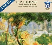 Telemann:Flute & Viola Suites