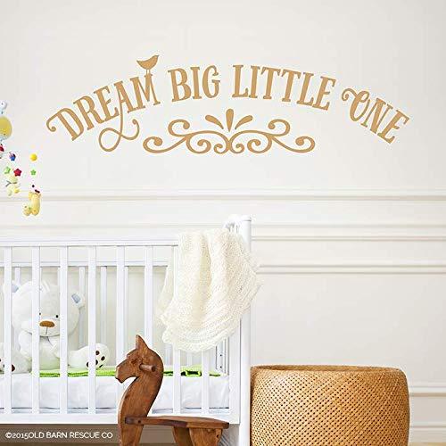 stickers muraux bob marley Dream Big Little One For Bedroom Salon Chambre d'enfant chambre d'enfant