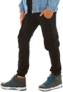 Dykmod Pantalones de chándal para niño con bolsillos