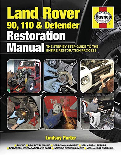 Haynes Land Rover 90, 110 & Defender Restoration Manual: The Step-by-Step Guide to the Entire Restoration Process