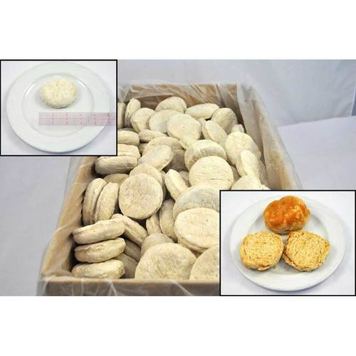 Pillsbury Zero Trans Fat Whole Grain Biscuit Dough, 2.51 Ounce -- 216 per case.