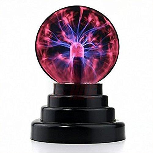 Magische plasmakogel plasmabal lamp draagbare bal elektrostatische bal aanraakgevoelige flitsbol, knipperend educatief speelgoed flitslicht plastic lamp - USB of batterij