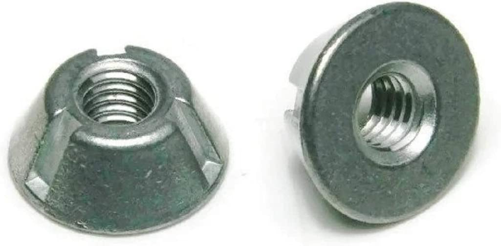 Tri-Groove Tamper Proof Security Nuts Zamak Popular New color shop is the lowest price challenge Zinc QTY 5 #10-24 -
