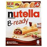 Ferrero Nutella B - Ready Ciallda di Pane, Confezione da 6, 132g