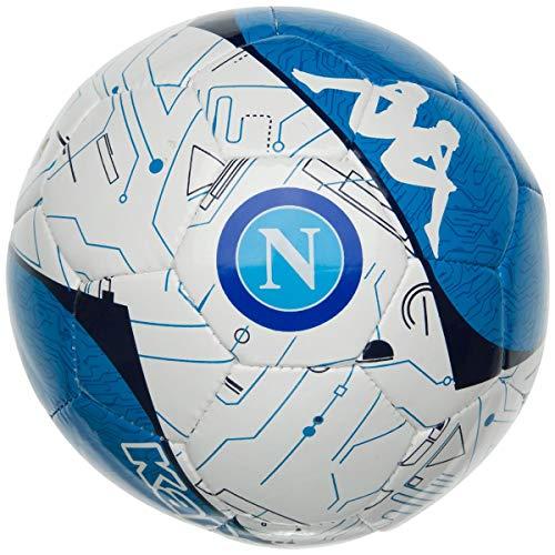Kappa Mini Pallone da Calcio, Unisex - Adulto, Bianco/Blu, Talla 02