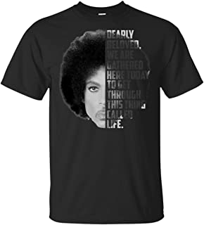 Prince Nelson Dearly Beloved we are Gathered here Today to get Through This Thing Called Life Ultra Cotton T-Shirt