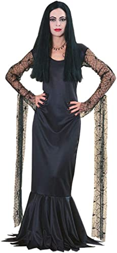 Horror-Shop Morticia Halloween Hexenkostüm L   40