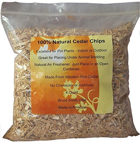 100% Natural Cedar Chips